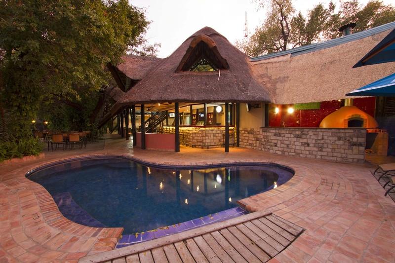 the victoria falls waterfront livingstone zambia