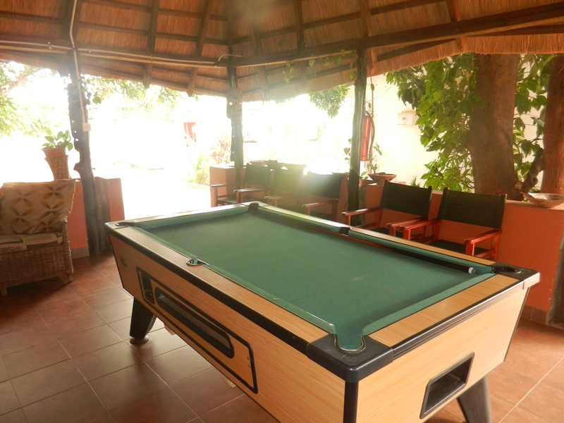 Tabonina Guesthouse   Gazebo   Pool Table