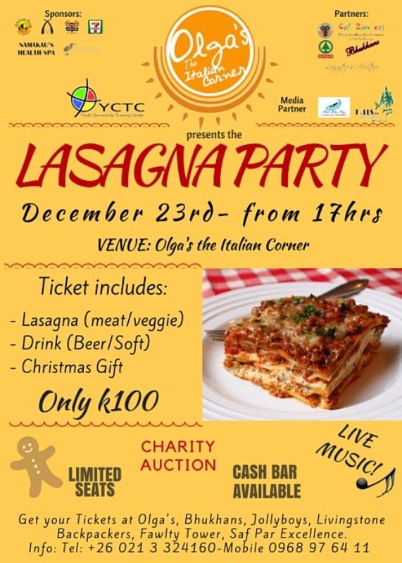 Lasagna Party