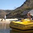 Beautiful scenery and white sandy beaches for overnight rafting camps