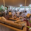 Elephant cafe by the Zambezi