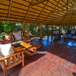 Plenty of space in the Boma for a business meeting or to just to relax in the shade